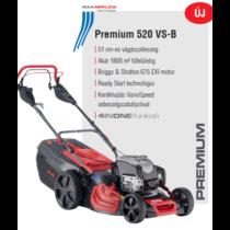 ALKO Premium 520 VS-B benzinmotoros, önjáró fűnyíró; B&S motor, VarioSpeed, 51 cm vágószélesség - PREMIUM 119949