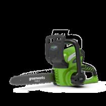 GreenWorks G40CS30 40V akkus láncfűrész, 30 cm vezetővel - akku és töltő nélkül