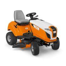 STIHL RT 4097.1 SX jól manőverezhető, oldalkidobós, benzinmotoros fűnyíró traktor, akadályokkal teli kertekbe, 95 cm munkaszélesség,10 LE